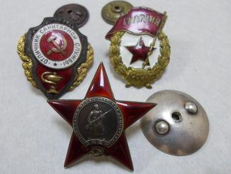 Боевые награды на женщину гв. с-та Кавалерийского полка