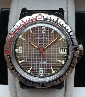 Часы Восток командирские в пластмассовом корпусе