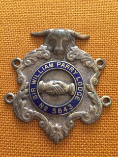 Накладка Старинного Королевского Ордена Буйволов