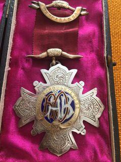 Старинный Королевский Орден Буйволов 1902 год серебро