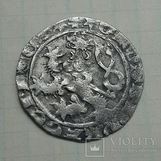 Пражский грош Вацлав lV 1373-1419 г.г.