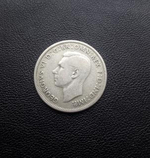 42 монеты флорин Австралия, серебро