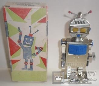 Механическая игрушка робот заводной