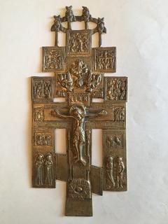 Крест с предстоящими