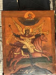 Икона Архангел Михаил воинствующий победоносец
