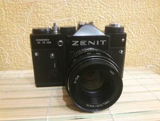 Zenit TTL ссср.знак качества .helios -44m 2/58 в кофре