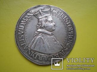 Талер 1656 год. Ортенбург.