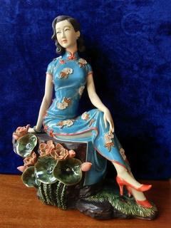 Леди. Керамика Шиван. Китай.