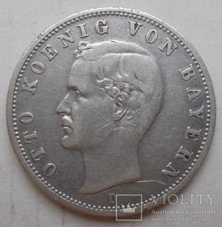 2 марки 1903 D. Отто. Бавария.