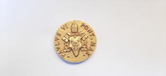Медаль ecce agnvs dei Pavlvs 4 pont. max.