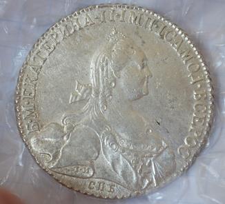 1 рубль 1776 года.