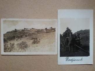 Бердянск 1918 год  2 фотооткрытки.Вид из района Лиски на нагорную часть города.