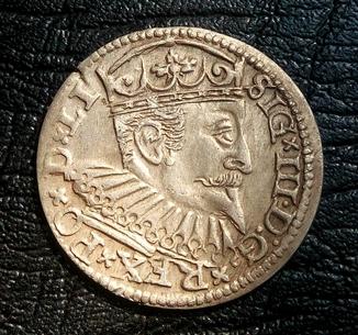 Трояк Сигизмунд lll 1597 г. Рига