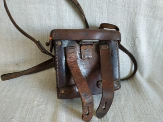 Медицинская поясная сумка кожа Третий Рейх Reich