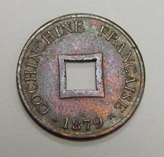1 цент, Французские Кохинхины, 1879 г