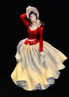 """Alice"" Royal Doulton, фигурка года- 1999"