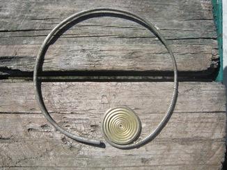 Срібні Височні кольца ПК