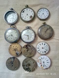 Часы карманые, механизмы.