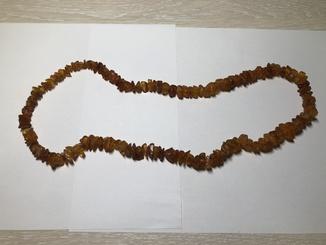 Янтарні буси 42 грама