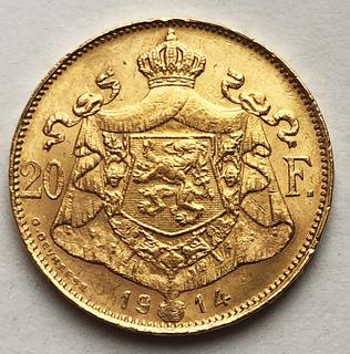 20 франков 1914 года. aUNC.