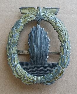 Нагрудный знак минных тральщиков 3 рейх Wilhelm Deumer
