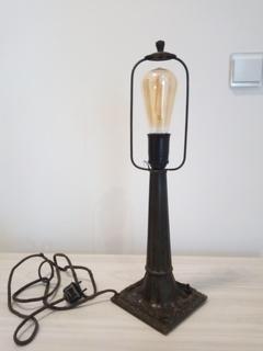 Настольная Массивная Лампа Торшер 30-40гг