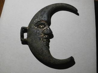Конская сбруя полумесяц 18 столетие