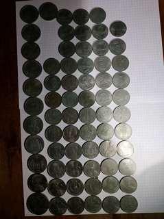 Юбилейные монеты СССР 61шт.