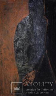 "Картина ""Вор"", холст, масло, 110х80см"