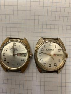 Часы Слава (2 штуки в лоте)