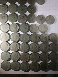 Юбилейные монеты Рубли СССР 46шт.