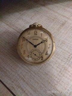 Карманные часы WALTHAM