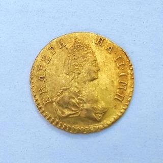 Полтина 1777 года. Биткин-R, Петров-2,5руб.