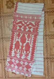 Старинный тканый рушник 4м 10 см