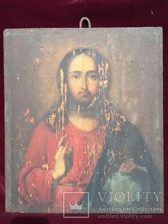 Икона Иисус Академическая живопись 30.5*35 см.