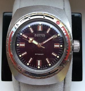 Часы Восток Амфибия Бочка