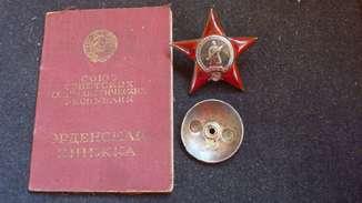 Орден Красной Звезды №-420.695+док.Десант в Новороссийск