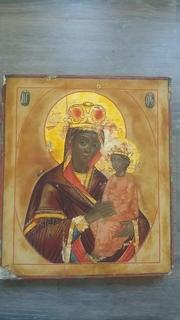 Икона Матерь с младенцем.Черниговская.