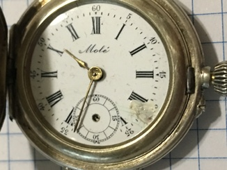 Женские часы Moli, Серебро 84 пр, на реставрацию