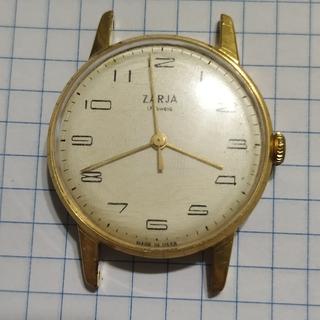 Часы  Zarja, Заря, 17 камней, AU10, рабочие.