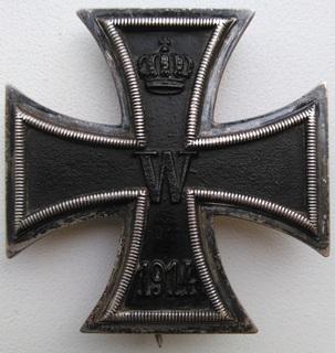 Железный Крест 1-го класса, клеймо S-W
