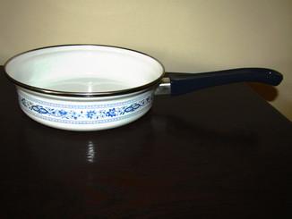Сковородка толстое дно синий лук Zwiebelmuster Германия
