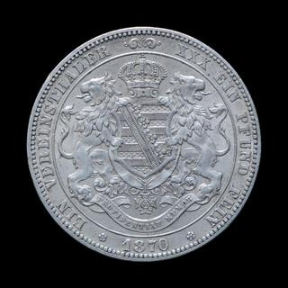 Талер 1870, Cаксония