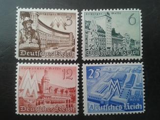 Германия рейх-№739-742 MNH
