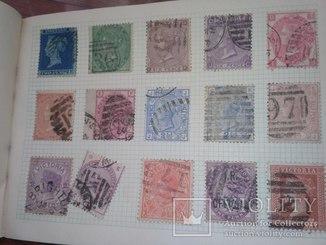 Почтовые марки разных стран мира