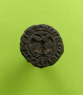 Гербовая печать XIV-XV века.