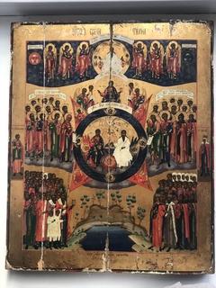 Икона Образ Свети Тихий 53 х 43 см