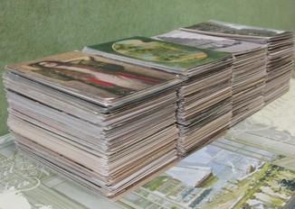 1000 старинных открыток разной тематики. Видовые, поздравительные, искусство