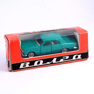 Волга ГАЗ-24 сделано в СССР 1:43 в родной коробке
