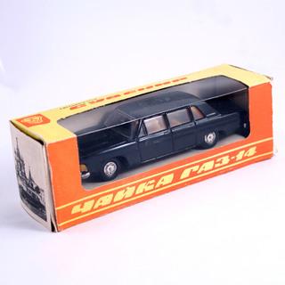 Чайка ГАЗ-14 1:43 сделано в СССР автомобиль машинка масштабная модель